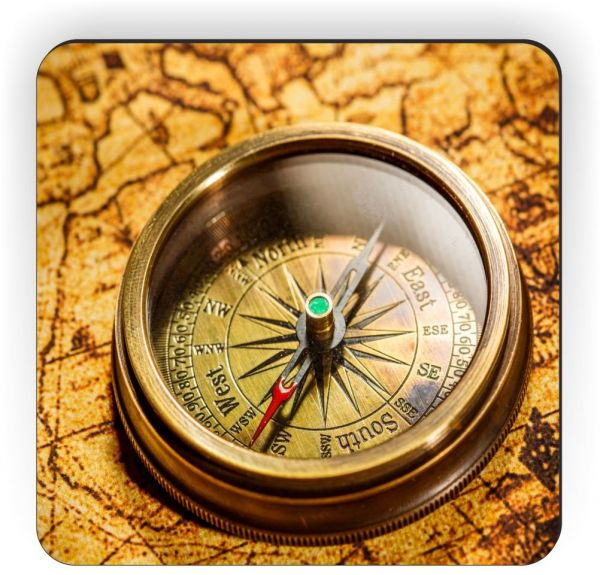 Souq rikki knight vintage compass lies on ancient world map design souq rikki knight vintage compass lies on ancient world map design square fridge magnet uae gumiabroncs Gallery