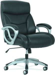leather executive high back office chair black aft mahmayi flash
