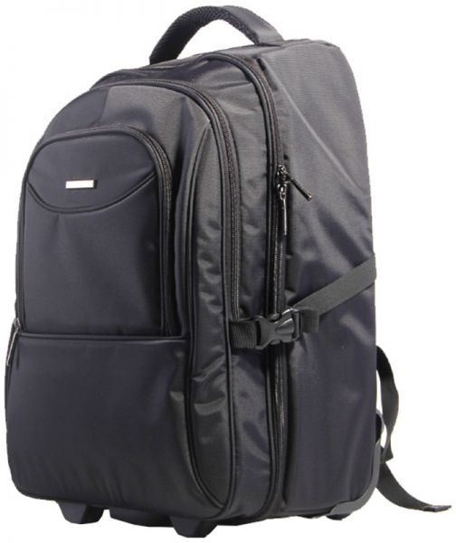 Kingsons Prime Series Laptop Backpack Trolley Bag - Black  fcb30db322cfb