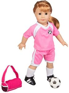 5bf9232a76 Soccer Outfit for American Girl and 18