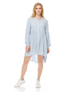 d65730bda69b GLAMOROUS Women s Powder Blue Shirt Dress