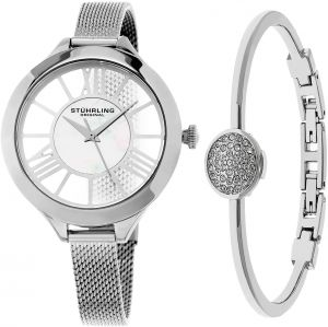 40ac5c3d5 Stuhrling Original Dress Watch For Women Analog Stainless Steel -  SET_595.01_B1S