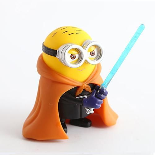 Jedi Knight With A Lightsaber Star Wars Minion Figures Souq Uae