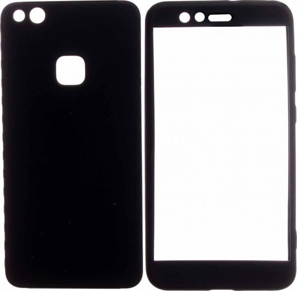 on sale 5fa40 68853 360 Full Cover For Huawei P10 Lite, Black