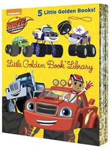 Blaze And The Monster Machines Little Golden Book Library Books