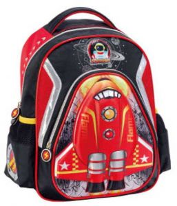 f362ffb9c2f1 KID S 3D ROCKET FLAME school bag (backpack) set-0040
