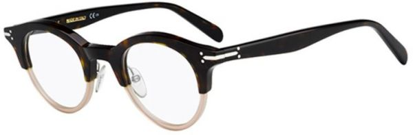 c1a72a2c4f Celine Glasses Frame Round For Women - Black