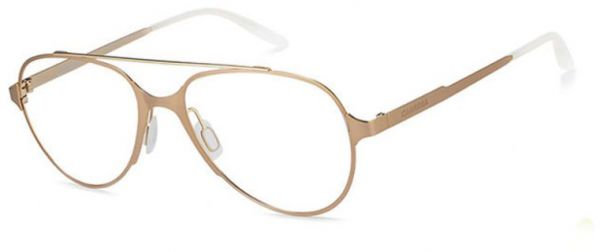 Buy Carrera Glasses Frame Aviator For Men - Gold , Ca6663-Gm0-53 ...
