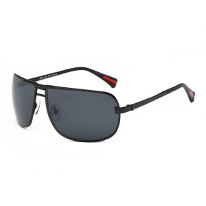c7612a461a DONNA Oversized Sports Sunglasses with Big Wrap Around Lens and Double  Bridge for Driving Golf Motorcycle Baseball D60(Matte Black frame)