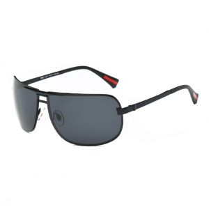 01f5f5369b7 DONNA Oversized Sports Sunglasses with Big Wrap Around Lens and Double  Bridge for Driving Golf Motorcycle Baseball D60(Black)