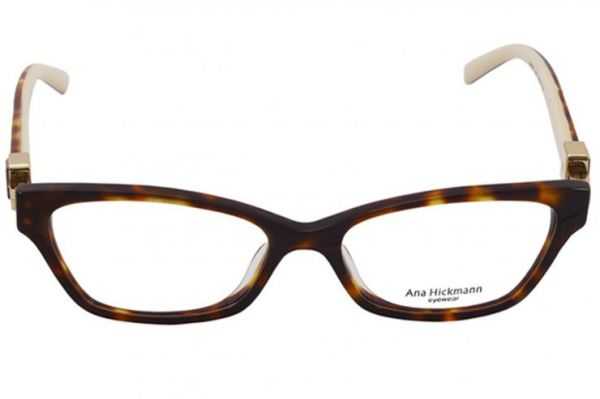 eb6f7a8fb8114 Ana Hickmann Glasses Frame ,For Women ,Acetate ,Brown ,6207-G21 ...