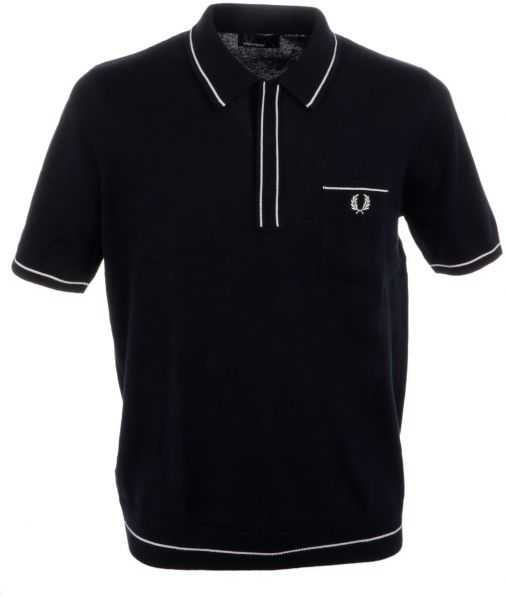 27fe19ccbfd Fred Perry Polo T-Shirt for Men - Black