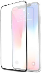 new style 4fff1 ab0aa Promate iPhone X Glass Screen Protector, Ultra-Slim 3D Curved Edge-To-Edge  HD Tempered Glass Screen Protector with Applicator Tool Frame and 9H ...