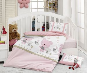 bce31c68fee Majoli Bahar Home Collection Multi Color Toddler Size 100 x 150 cm Lola v1  Quilt Cover Set - 4 Pieces