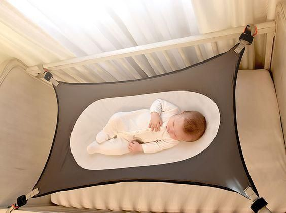2b7658e212f2 Infant Safety Baby Hammock Printed Newborn Children s Detachable ...