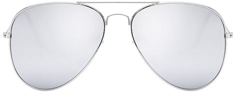 67c1f010f7e Aviator Silver Mirror or Color Mirror Metal Frame Sunglasses. by Other