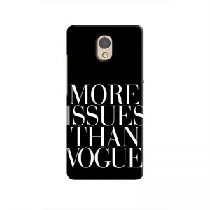 Cover it up Vogue Issues Lenovo P2 Hard Case - Black