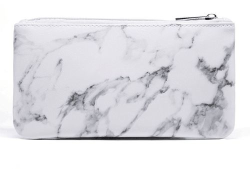 Marble Big Makeup Bag Travel Size Large Cosmetic Cute Makeup Case Train  Bags Pouch Kit Brush Organizer Toiletry Travel Fashionable Marble  Accessories  392028fbf2345