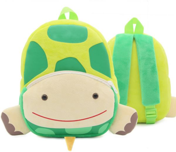 ca47d8777e Tortoise Plush Children Backpacks Kindergarten Schoolbag 3D Cartoon Zoo  Animal mochila infantil Children School Bags for Girls Boys