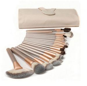 18pcs/set Blue Mix Multi Color Makeup Brushes Set Powder Foundation Eyebrow Make up Brush Beauty Cosmetics Tools