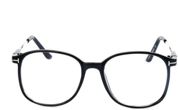 b3169b51672 Square Style Glasses Fashion Metal Eyeglasses Frame Women Men Clear Lens  Eyewear
