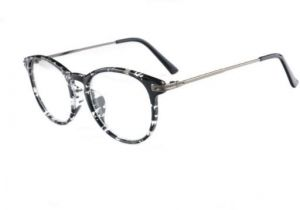 748aaeab8a26e TWO Oclock Oversize Eyeglasses Women Transparent Clear Glass Optic Frames  Eye Glasses Men Diopter Spectacles -EJ