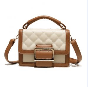 fbda09fc44 brown Fashion Women Lady Leather Messenger Crossbody Shoulder Bag Satchel  Handbag Tote