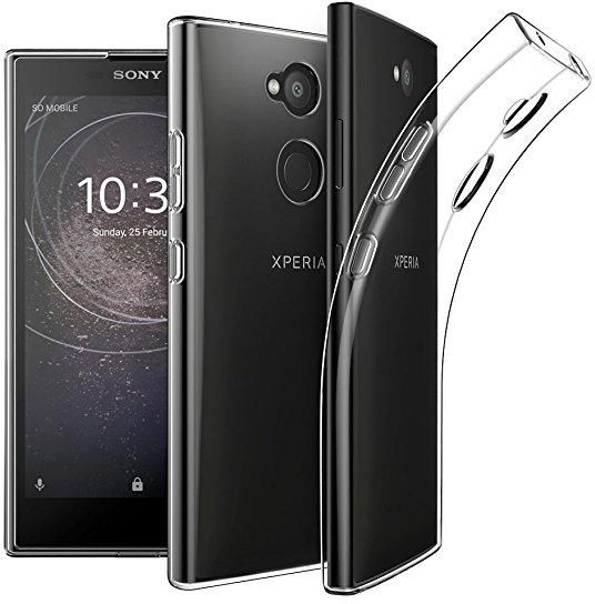 competitive price 9ea47 45ec7 Sony Xperia L2 TPU Silicone Clear Case Back Cover By Muzz