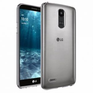 LG K10 PRO (STYLUS 3) TPU Silicone Clear Case Back Cover By Muzz