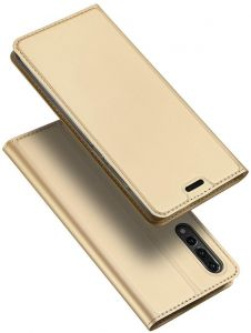 Huawei P20 Pro DUX DUCIS Skin Pro Series Leather Case Cover - Gold