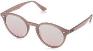 304403f37f Ray-Ban INJECTED MAN SUNGLASS - OPAL ANTIQUE PINK Frame PINK MIRROR SILVER  GRAD Lenses 51mm Non-Polarized