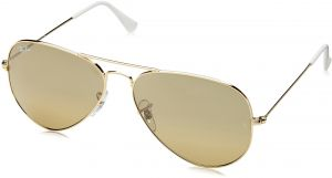 d67d5ffe912 Ray-Ban Unisex-Adult Aviator Large Metal 0RB3025 Aviator Sunglasses