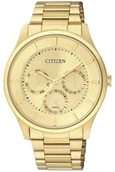 f0d9f6a71c6 Citizen Men s Gold Stainless Steel Band Watch - AG8353-56P. by Citizen