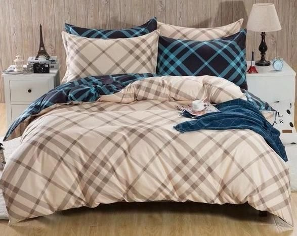 New Arrival Luxury King Size Six Pieces Cotton Quality Bedding
