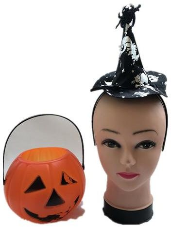 Halloween party costumes Pumpkin barrels whimsy witch Hair band---2 ...