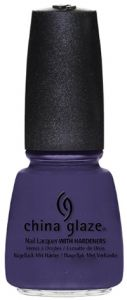 China Glaze Nail Lacquer with Hardeners - 14 ml, Queen B
