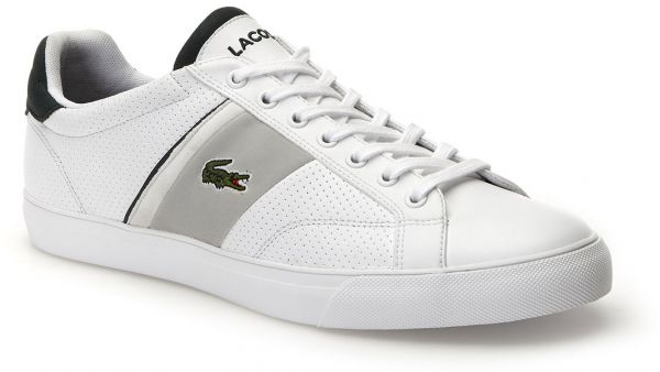 f3b7ddcef Lacoste Fairlead 118 1 Fashion Sneakers for Men - White