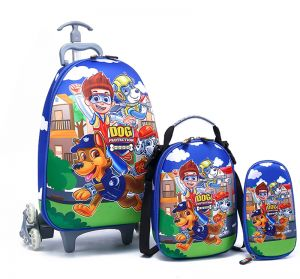 Trolley school bag for kids set of 3 3461e4b90ef37