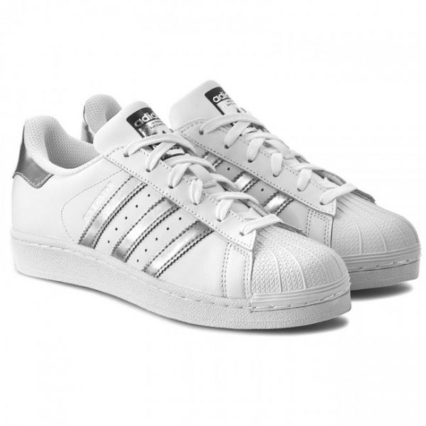 new product 94a50 cb7ef Adidas Original Superstar Sneakers for Women, White, 5 UK - AQ3091