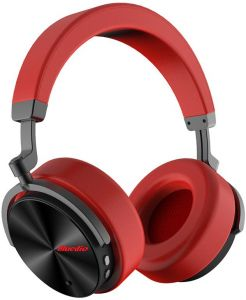 66af1cbac35 Bluedio T5 Active Noise Cancelling Wireless Bluetooth Headphones With Mic -  Red
