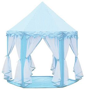 Play Tent Portable Foldable Princess Folding Tent Children Castle Play House Kids Gifts Outdoor Toy Tents For Kid-blue  sc 1 st  Souq.com & Play Tent Portable Foldable Princess Folding Tent Children Castle ...