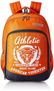 American Tourister 27 Ltrs Orange School Backpack - AMT VOLT BACKPACK 02 -  ORANGE f72cd3ae10