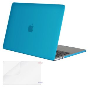 82b27f2a0 Mosiso MacBook Pro 15 Case 2018 & 2017 & 2016 Release A1990 / A1707,  Plastic Hard Case Shell Cover with Screen Protector for Newest Macbook Pro  15 Inch with ...