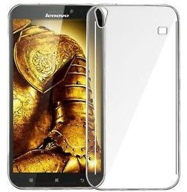 Lenovo Golden Warrior Note 8 ( A936 ) TPU Silicone Clear Case Back Cover By Muzz