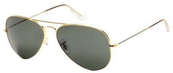 a483d7bcd0b8 Classic Sunglasses Black Color Golden Frame