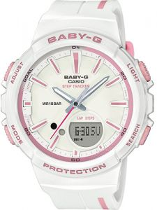 c2d39f981443 Casio G-Shock Baby-G Women s White Dial Resin Band Watch - BGS-100RT-7AER