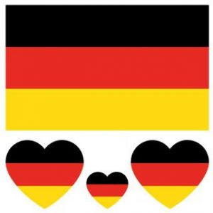 5e6644ee9 World Cup 2018 Top 32 Nations Small Body Face Sticker Nation Flag Temporary  Tattoo Stickers Germany