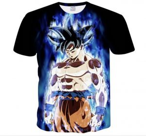 8124c540043 Dragon Ball Super Ultra Instinct Goku 3D printed man short sleeved  Breathable T - shirt
