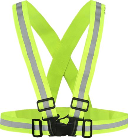 High Visibility Unisex Outdoor Safety Vest Reflective Belt Safety Vest Fit For Running Cycling Sports Outdoor Clothes