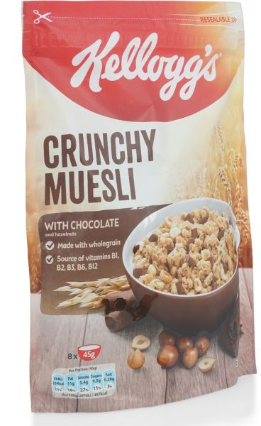 Kellogg's Crunchy Muesli with Chocolate - 380 gm